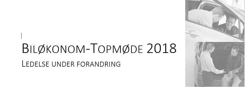 Biløkonom topmøde 2018!
